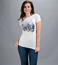 Motley Crue Girls Girls Girls T Shirt by Junk Food Clothing