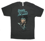 Rambo Doesnt Sleep He Waits Mens Tee Shirt