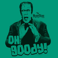 The Munsters Oh Goody Juniors Vintage Style T Shirt