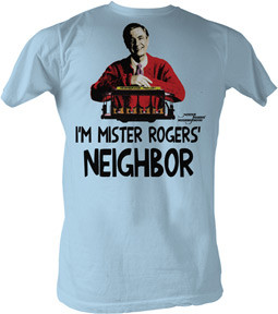 Im Mister Rogers Neighbor Adult Tee Shirt