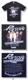 Poison Band Photo Mens 2003 Tour Tee Shirt