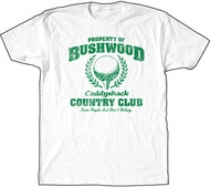 Caddyshack Property of Bushwood Country Club Mens Vintage Style T Shirt