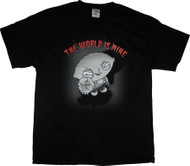 The Family Guy Stewie The World Is Mine Mens Tee Shirt