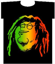 The Family Guy Peter Rasta Mens Tee Shirt