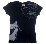 Corpse Bride Web Juniors T-Shirt