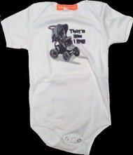 How I Roll Infant One Piece