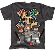 Lego Harry Potter Boys Charcoal Tee Shirt