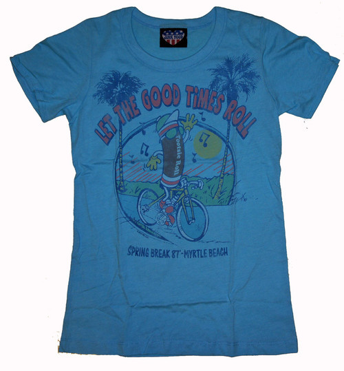 Tootsie Roll Myrtle Beach Spring Break Tee Shirt by Junk Food Clothing