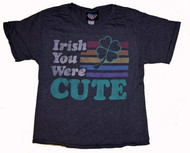 Junk Food Womens Irish You Were Cute Boyfriend T Shirt