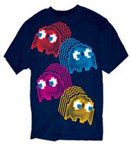 PAC MAN NEON GHOSTS YOUTH TEE SHIRT