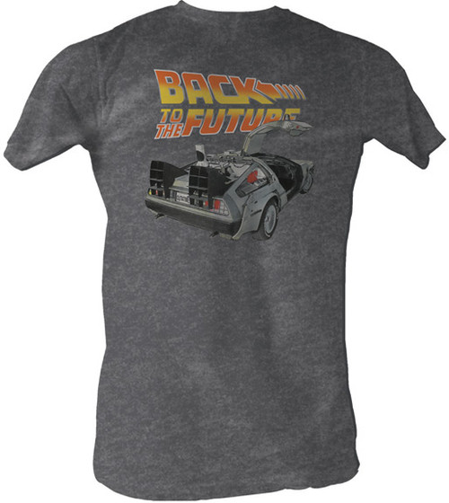 Back to the Future Vintage Car Tee Shirt