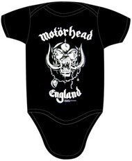 Motorhead England Infant Snapsuit