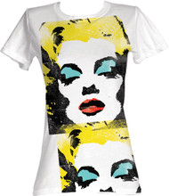 Marilyn Monroe Warhol Juniors Tee Shirt