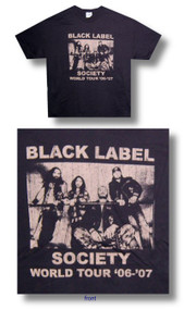 Black Label Society Vintage Mens Tee Shirt