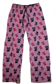 David and Goliath Pink Skull Pajama Pants