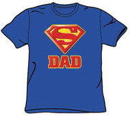 Superman Super Dad Mens Tee Shirt