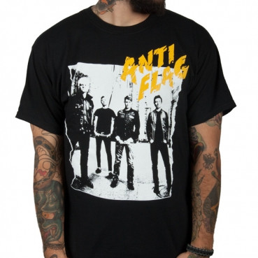 Anti Flag Clash Mens Tee Shirt