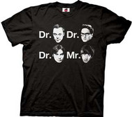 The Big Bang Theory Dr and Mr Mens Tee Shirt