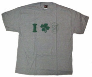 I CloveR Beer Mens T Shirt