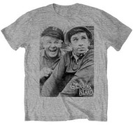 Gilligans Island Gilligan and the Skipper Photo Tee Shirt