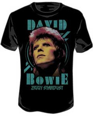 David Bowie Ziggy Stardust Mens Tee Shirt