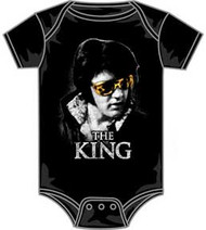 Elvis Presley The King Infant Bodysuit