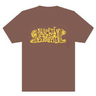 Slightly Stoopid Logo Mens Brown T Shirt