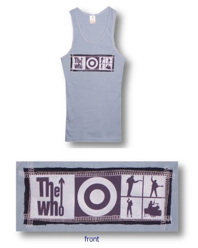 The Who Patch Beater Tank Top