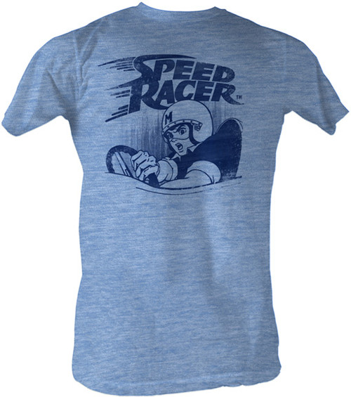 Vintage Speed Racer Mens Tee Shirt