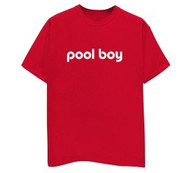 Pool Boy Mens Tee Shirt