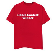 Dance Contest Winner Mens Tee Shirt