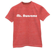 Vintage Mr Awesome Mens Tee Shirt