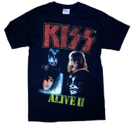 Kiss Alive II Mens T Shirt