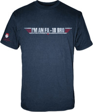 Charlie Sheen Im an FA 18 Bro Mens Tee Shirt