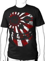 The Misfits Rising Sun Mens Tee Shirt