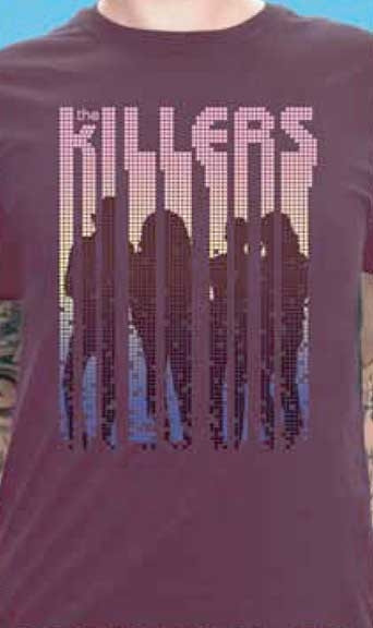 Killers Silhouettes Mens Tee Shirt
