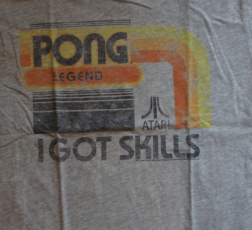 Junk Food Mens Atari Pong Legend T Shirt