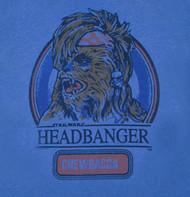 Mens Star Wars Chewbacca Headbanger Tee Shirt by Junk Food Clothing