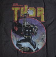 Mens Junk Food The Mighty Thor Tee Shirt in Black Wash