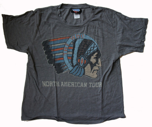 The Who North American Tour Womens Weekend T Shirt by Junk Food Clothing