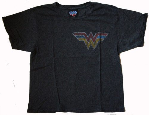 Wonder Woman Womens Weekend Tee Shirt by Junk Food Clothing