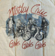 Mens Motley Criue Girls Girls Girls Tee Shirt by Junk Food Clothing