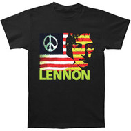 John Lennon Give Peace a Chance Mens Tee Shirt