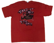 Take It Off 4 The Hoff Mens TShirt