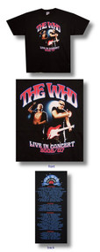 The Who 2006 2007 Concert Event Mens T Shirt