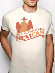 Crooked Monkey No One Can Like a MexiCAN Mens Vintage Style Tee Shirt