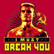 Rocky Soviet Drago I Must Break You Mens Tee Shirt