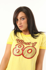 Class of 80 Womens Transfer T Shirt