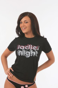 Ladies Night Womens T Shirt