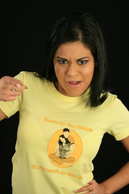 Dont Do The Crime If You Cant Do The Time Womens Tee Shirt
